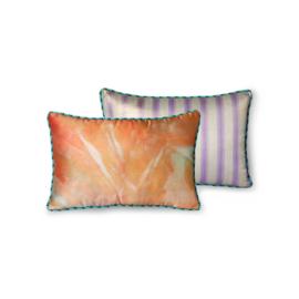 doris for hkliving: printed satin cushion glitter (25x40)