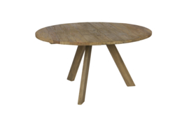 Tondo Eettafel Old Elm Be Pure