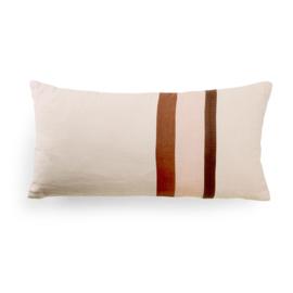 Linen striped cushion A (70x35) TKU2070