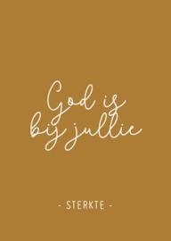 God is bij jullie