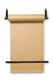 Wall Roll Holder Leather Loop with Paper 63x6cm