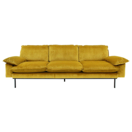 HK LIVING retro sofa 3-zits oker