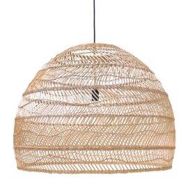 rieten hang lamp naturel 80cm HK Living