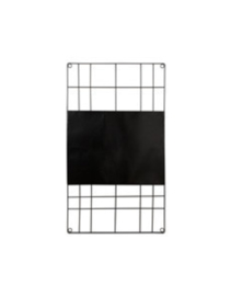 VTWONEN MEMO BOARD MAGNETIC WIRE BLACK 60X105CM