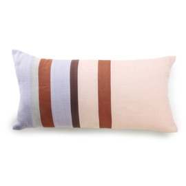 Linen striped cushion C (70x35) TKU2072