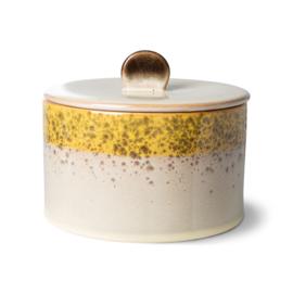 70s ceramics: cookie jar, autumn