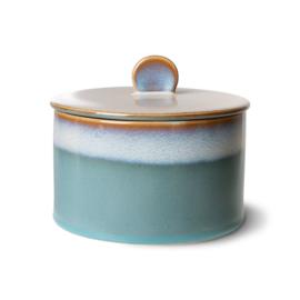 70s ceramics: cookie jar, dusk
