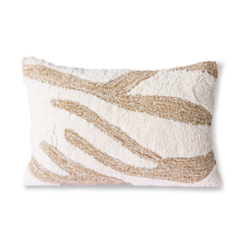 fluffy cushion white/beige (35x55) HK Living
