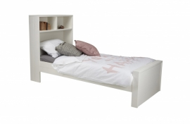 Max bed grenen wit