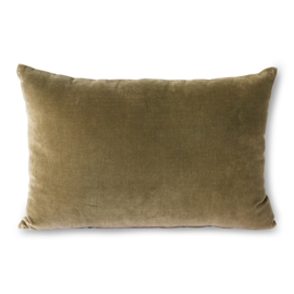 velvet cushion army (40x60) HK Living