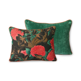 doris for hkliving: stitched cushion floral (30x40)