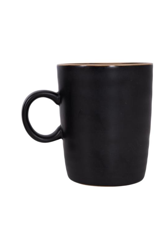 Theemok aardewerk zwart ZUSSS