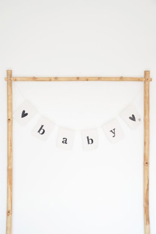 Katoenen vlaggenlijn baby ZUSSS