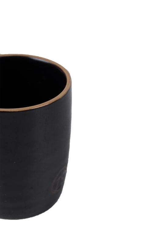 Espressokopje aardwerk zwart ZUSSS