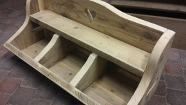 Gruttersbak  > van steigerhout , 3 vaks
