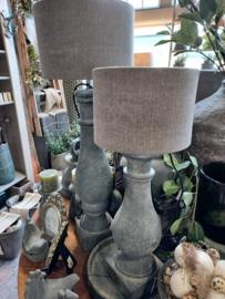 Brynxz >  Lampshade cylinder Stone >  d 20 x h 14 cm
