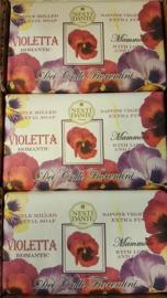 Nesti Dante  Blok zeep 250 gr Violetta
