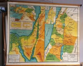 Schoolkaart Midden Oosten