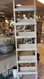 Ladder van steigerhout met diepe plankjes 200x35x9 cm