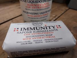 Immunity zeep ( desinfectie )