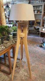 Lampvoet eikenhout > nieuw model