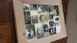 Fotolijst van steigerhout >  op maat