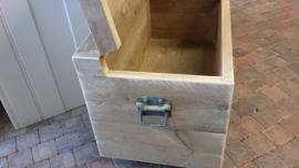 Speelgoedkist en/of Opbergkist van steigerhout ( elke maat leverbaar )