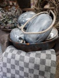 Hammam bol (ovaal) zeep  aan touw 200 gr