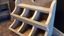 Gruttersbak 2 laags ( 6 bakken ) van steigerhout