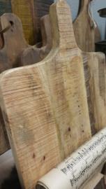Serveer-/snijplank staand als bookstand > oud hout