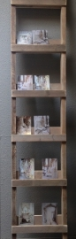 Ladder van steigerhout  - voor decoraties -  200 x 35 x 5 cm