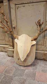 Eland > wanddecoratie > steigerhout & seringenhout