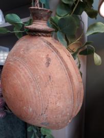 Sural pot bruin aan touw 37 cm