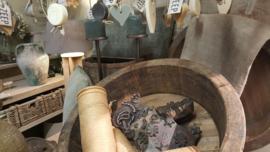 Oude textiel stempel(s)