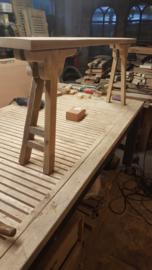 Steigerhouten bankje (smal)  lang 140x d 14x h 50 cm