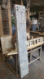 Wandpanelen betonlook van fiberclay ( Gioia grey stone ) 160 cm