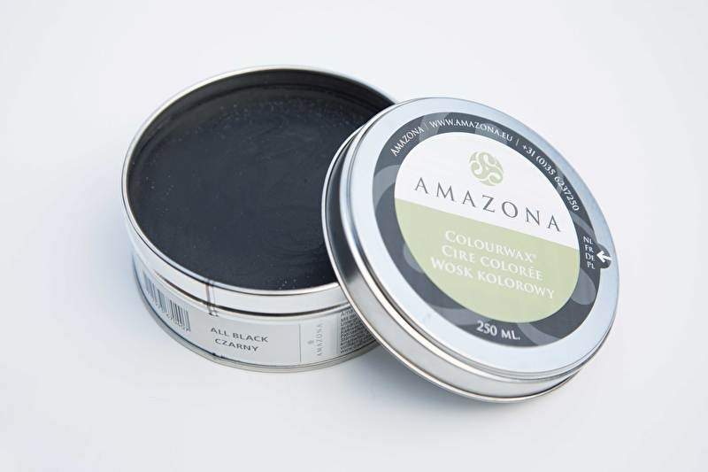 Amazona Colourwax All-Black 250 gr
