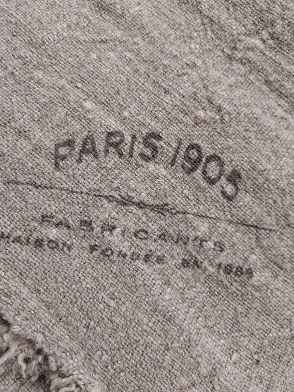 """Shabby doek 45 x 45 cm """"  Paris 1905 """""""