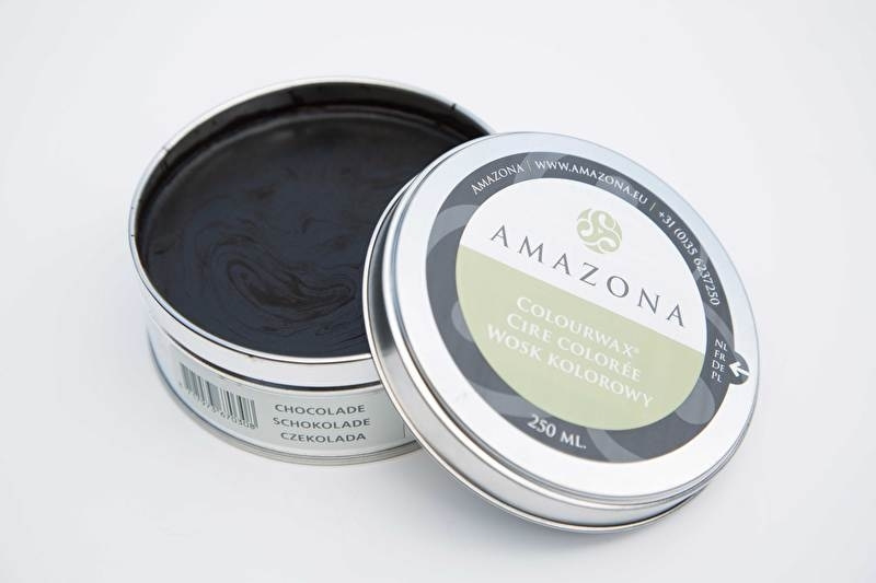 Amazona Colourwax Chocolade  250 gr