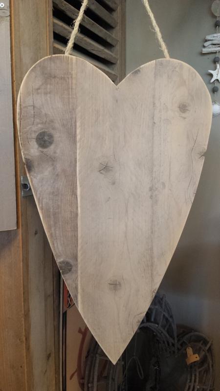 Steigerhouten -punt- hart  75 x 45 cm.