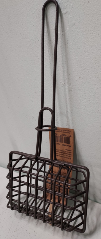 Zeep-klopper d.bruin draad  (nostalgie)