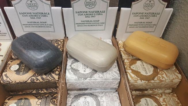 Nesti Dante Blokzeep 250 gr   NIEUW!   Platinum/zilvergrijs Soap