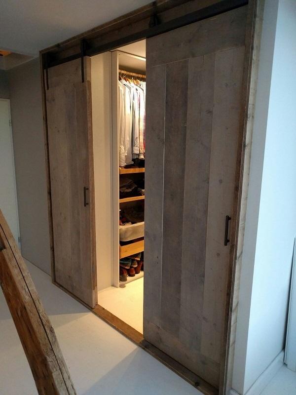Beste Louvredeuren en deuren aan hang-rol systeem ( ook systeem los te MM-88