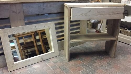 Steigerhouten Sidetable Koog.Self Fabrics Steigerhout Producten 6 Goedgevonden