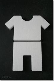 Kleding; broek + T-shirt