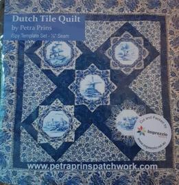 Dutch Tile Quilt Template set