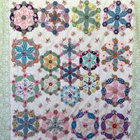 Snowflake Dance plastic en papieren mallenset