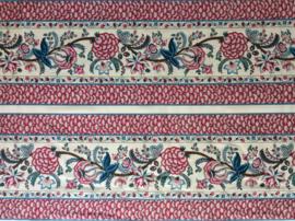Indian Rhapsody border fabric cream 2½M