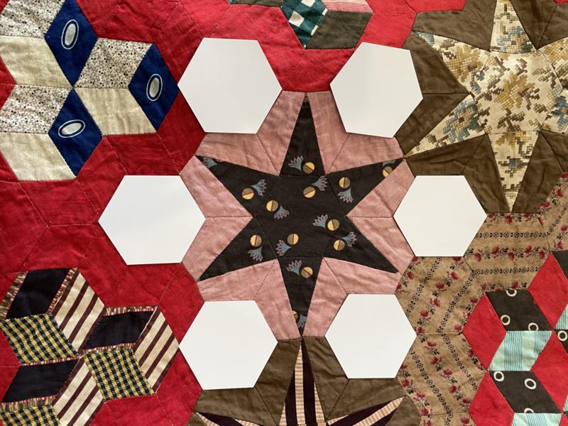 Queen Victoria 1 3/8 hexagon papers