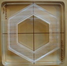 """Hexagon stempel 26mm (approx 1"""")"""